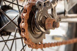 karat rantai sepeda